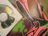 Acrylic/Aerosol/Vinyl/ on a 30 x 45 wooden panel. photo