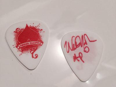 Custom Signed Guitar Pick main photo