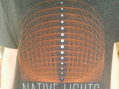 Native Lights Geometric Design Shirt (Orange Design) main photo