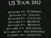 2012 Tour Shirt photo