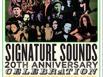 Signature Sounds 20th Anniversary Concert Poster main photo