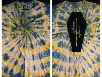 Yellow / Blue Tie Dye Coffin main photo
