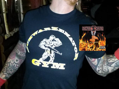 "Turbofan Combo: ""SchwarZenatoR Gym"" T-shirt + Full-Length CD + ""Jingle All The Way"" digital single! main photo"