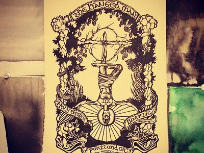 Limited edition Hanged Man tarot cards main photo