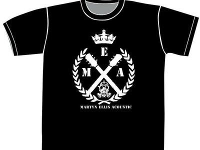 Crossed Guitars design T- shirt main photo