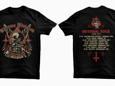 Infernal Rock Tour 2015 T-Shirt main photo