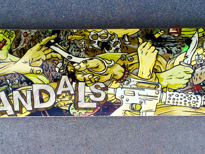 Vandals Limited Skate Deck  Only available at http://bit.ly/1BnhCGg main photo