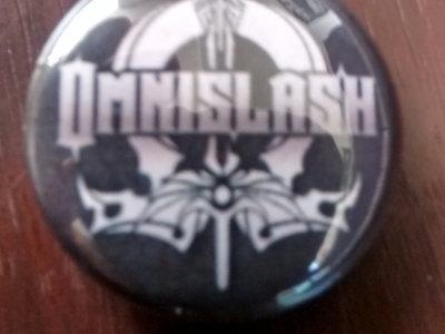 """OMNISLASH """"Logo"""" 1"""" Button main photo"""