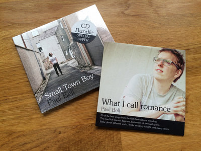 """CD Bundle - """"Small Town Boy"""" and """"What I call romance"""" main photo"""
