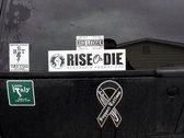 Rise or Die Bumper Sticker photo