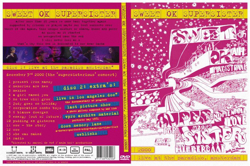 SUPERSISTER 2DVD SWEET OK SUPERSISTER   Robert Jan Stips