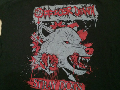 Stray Dogs T-Shirt (Grey/Red) main photo
