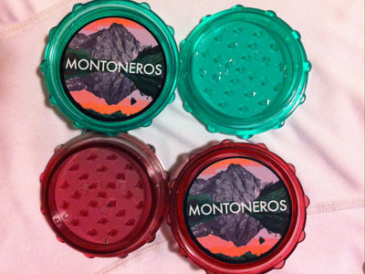 "Montoneros 2.5"" Plastic/Herb Pollen Grinder main photo"