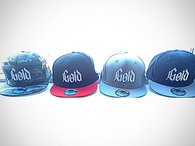 Gold Snap Back Hats main photo