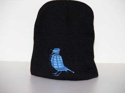 Burd Cage Beanie (Black/Blue) FREE POSTAGE main photo