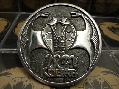 Sign of the Kobra - belt buckle main photo