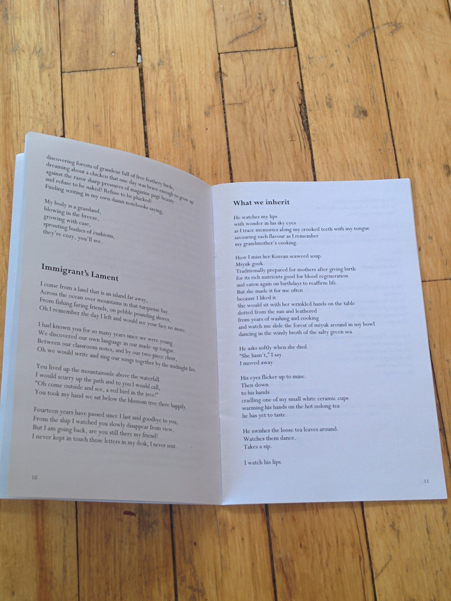 Heart Clench Year  Poetry Chapbook  Janice Jo Lee