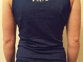 Womens' Navy Crow Vest Top photo