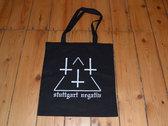 """Tote Bag """"Stuttgart Negativ"""" photo"""