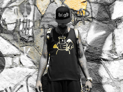✖ Privé Apparel ✖ #SmokedOutSundays Gold tank main photo