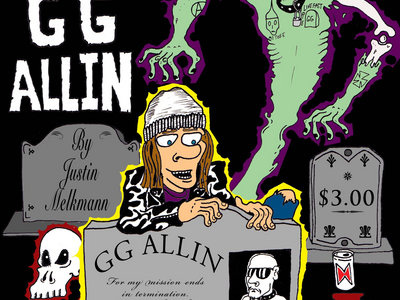 Comic Book: Slap In The Face: My Obsession With GG Allin main photo