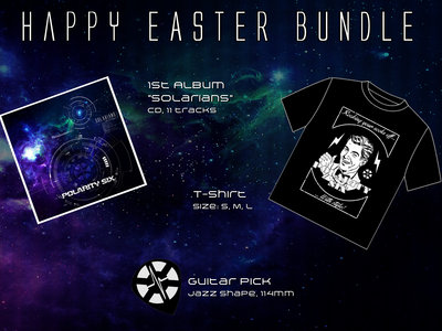 Happy Easter Bundle - CD + Shirt + Pick main photo
