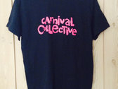 Carnival Collective T-Shirt: MAGENTA photo