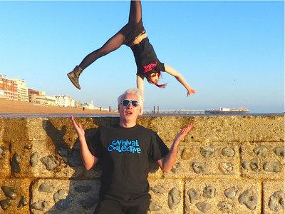 Carnvial Collective T-Shirt: CYAN main photo