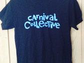 Carnvial Collective T-Shirt: CYAN photo