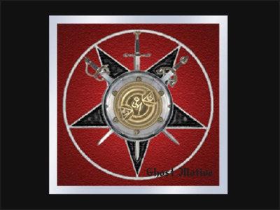 """E.C.K. Coat of Arms™ Glass Enhancer"" Window Decal main photo"