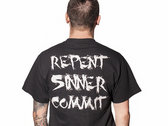 A Logo Repent Sinner Commit photo