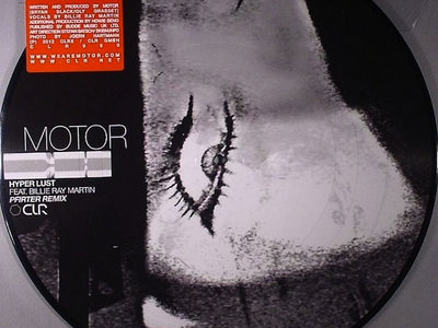 Motor feat. Billie Ray Martin - Hyper Lust (vinyl picture disc) [CLR060] main photo