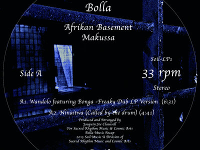 "Bolla - Afrikan Basement - Part 1 - 12"" Vinyl - EXTREMELY LIMITED! main photo"
