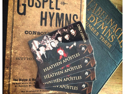 Heathen Apostles Without A Trace 3 song EP Card w/ Free Download main photo