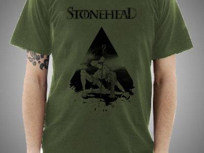 Shirt - Surreal Liberty - men - olive green main photo
