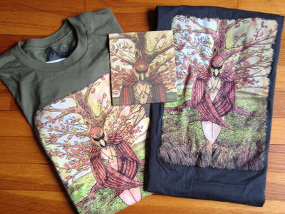 Birthrite EP and Bird Woman T-shirt or Tank Combo pack main photo