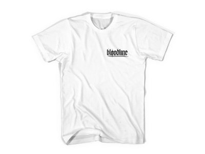 "Bloodline ""Heart Shirt"" White main photo"
