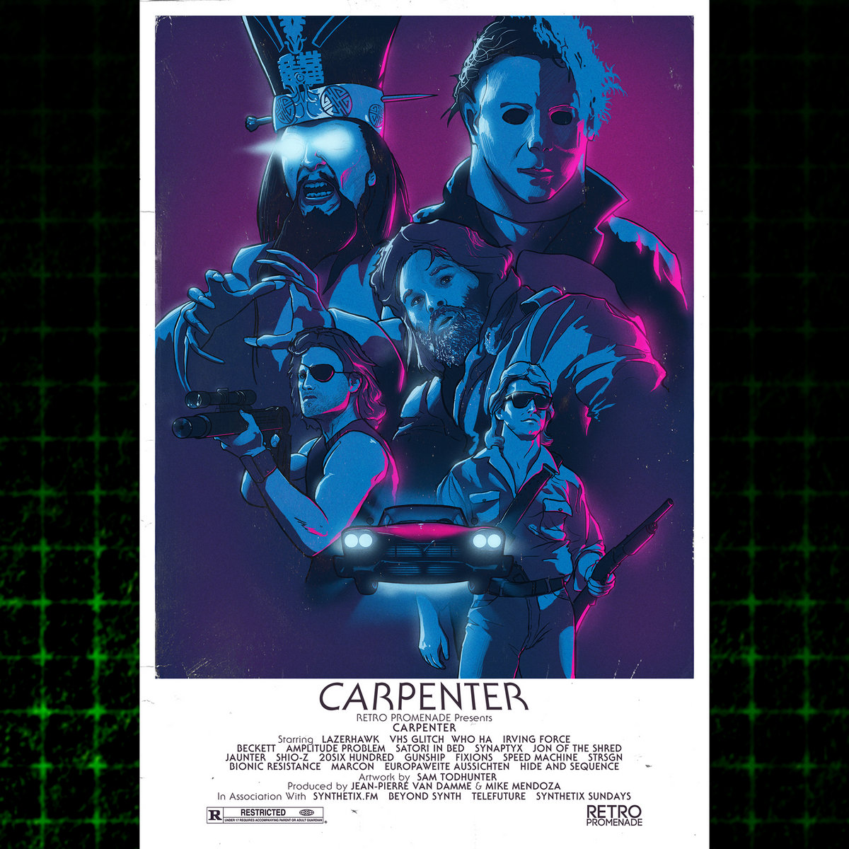 Bien connu Carpenter | Retro Promenade PX73