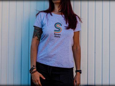 T-shirt Ladyfit / Gris main photo