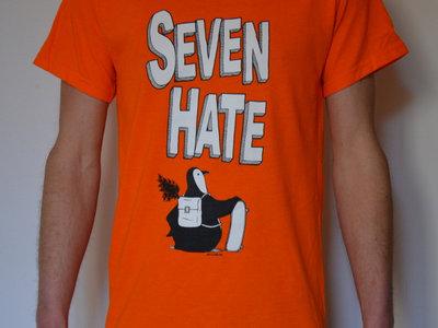 T-shirt Pingouin / Orange Taille S main photo