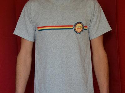 T-shirt Logobandes / Gris Taille M main photo