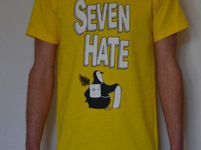 T-shirt Pingouin / Jaune Taille S, M main photo