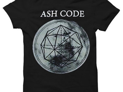 Ash Code 'Logo' Black T-Shirt main photo