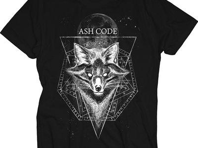 Ash Code 'Esoteric Fox' Black T-Shirt main photo