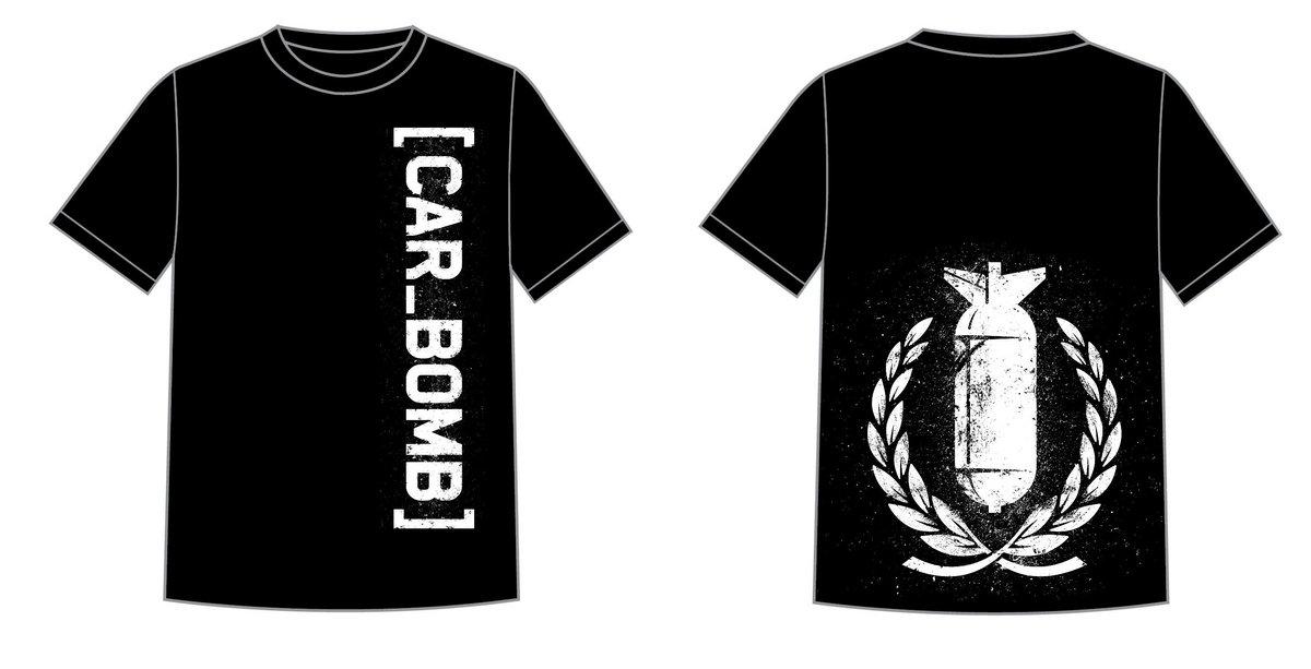 Crest Bomb T-Shirt | Car Bomb