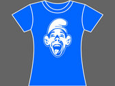GABBA SMURF - T-Shirt - Blue - Mens (Unisex) / Womens (Ladyfit) - Various Sizes photo