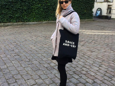 'Dance And Cry' tote bag main photo
