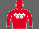 SMILEY RINGS / OLYMPIACID GAMES - Unisex Hoodie - Various Sizes & Colours photo
