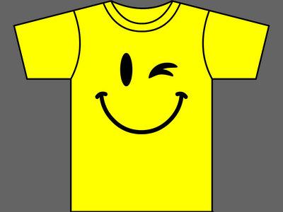 EJACULATING SMILEYS - T-Shirt - Yellow - Mens (Unisex) / Womens (Ladyfit) - Various Sizes main photo