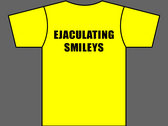 EJACULATING SMILEYS - T-Shirt - Yellow - Mens (Unisex) / Womens (Ladyfit) - Various Sizes photo